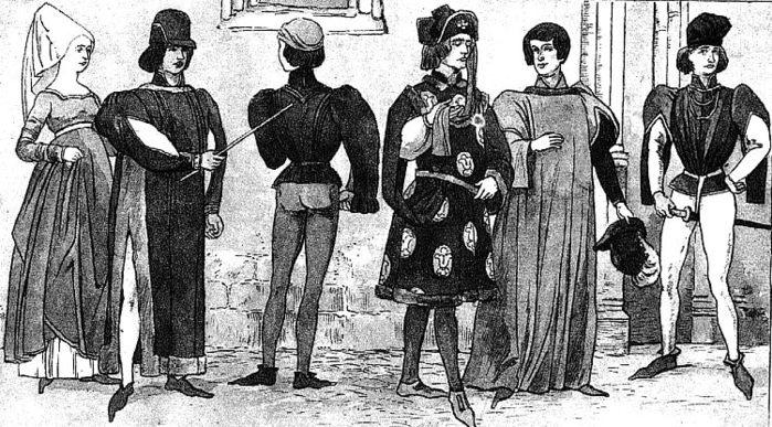Где научиться шить средневековые костюмы.