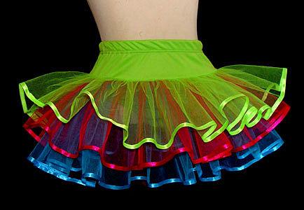 Как сшить многослойную юбку из органзы 37