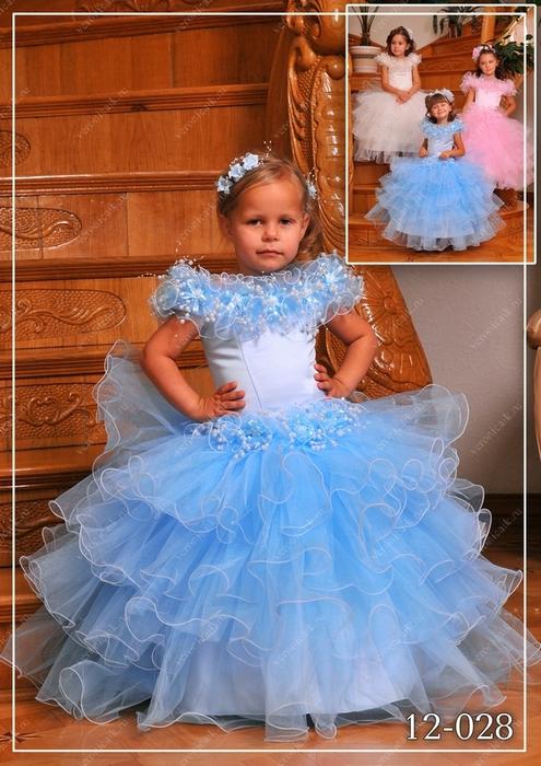 Пышное платье детям сшить своими руками