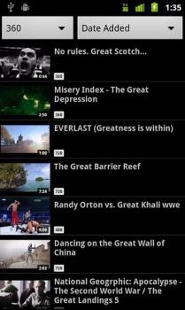 Вконтакте Видео для Android (209x350, 30Kb)