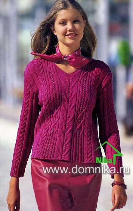 pulover-s-kosami (442x700, 38Kb)