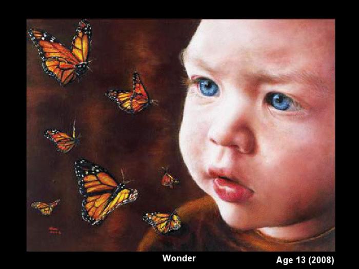Возраст 14 лет 9 картин.