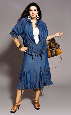 покрой платья для полных женщин