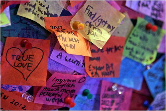Празднование нового 2012 года в разных странах мира (фото)