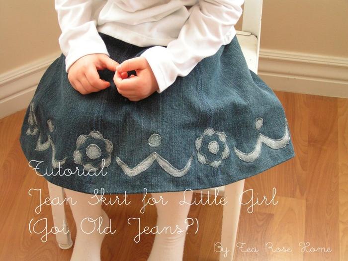 Шьем сами юбки для девочки