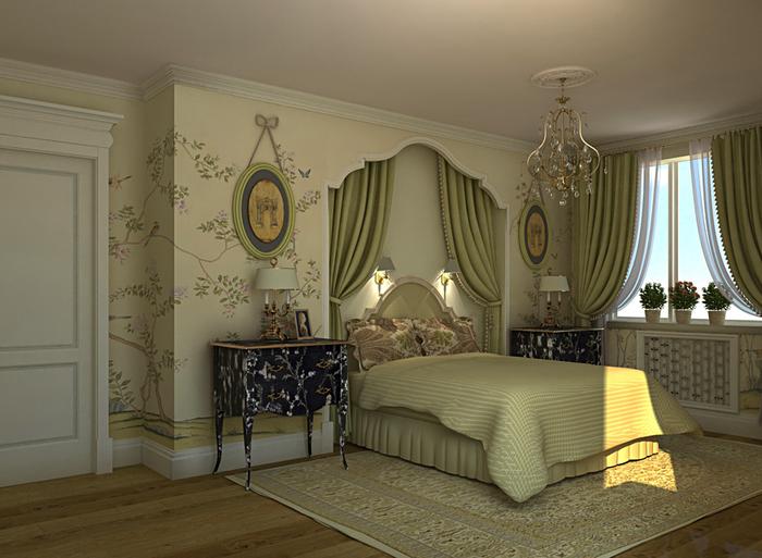 Английские спальни фото