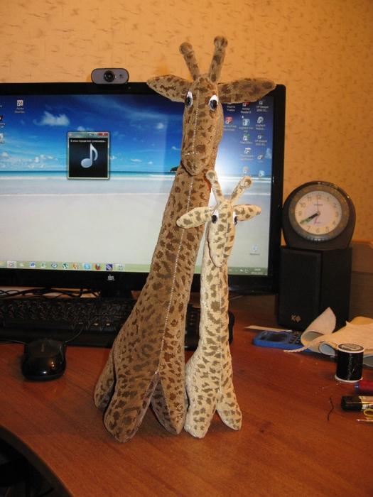 Жирафы (1) (525x700, 284Kb)