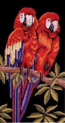 Схемы для вышивки крестиком.Flamencos+Papagayos Название:Flamencos+Papagayos Издательство: DMC Язык...