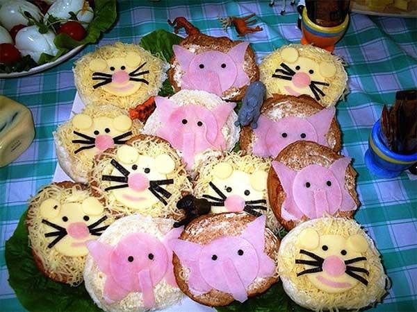 Закуски на праздничный детский стол рецепты