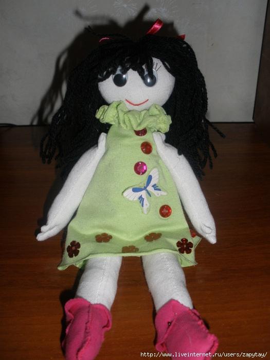 как связать куклу кручком