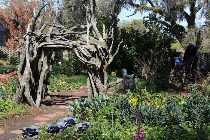 """Сады Брукгрин - Brookgreen: """"Релаксация в красивой обстановке"""" 59335"""