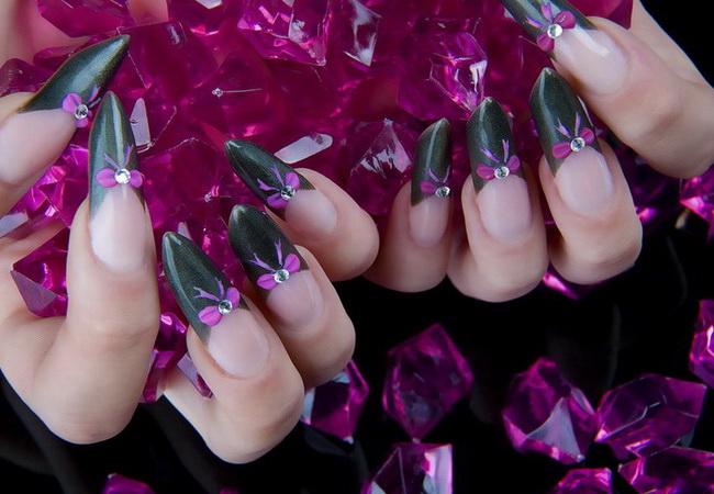 оригинальный дизайн ногтей 2012