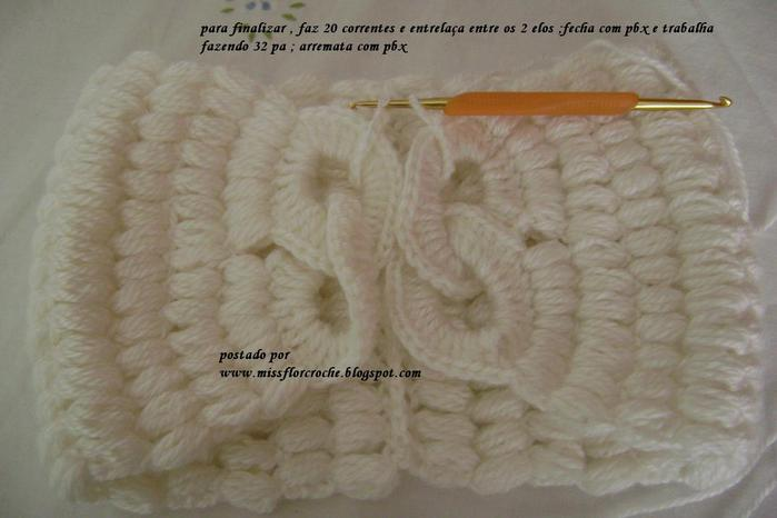 钩针:装饰用衣领围巾 - maomao - 我随心动