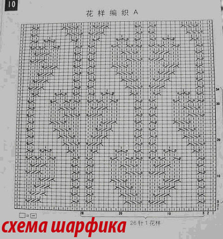 Рыжий шарф_схема (449x480, 71Kb)