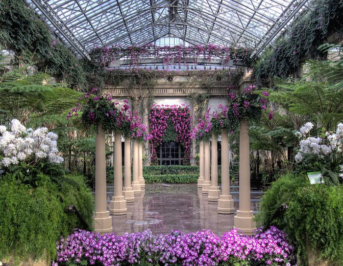 Сады Лонгвуда, Пенсильвания, США. 28480