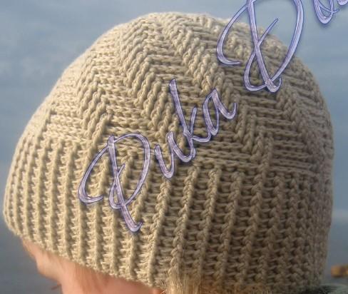Отличная шапка с рельефным узором крючком-для мужчин  /4683827_20120111_105326 (488x412, 65Kb)