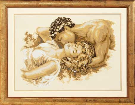 Схема Поцелуй от Vervaco