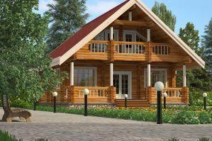 Деревянный дом (299x199, 19Kb)