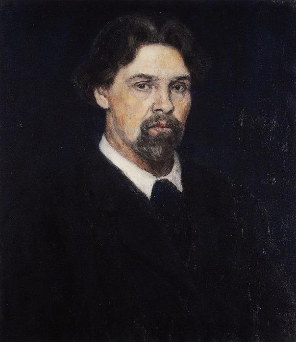 Автопортрет. 1913 (604x700, 107Kb)