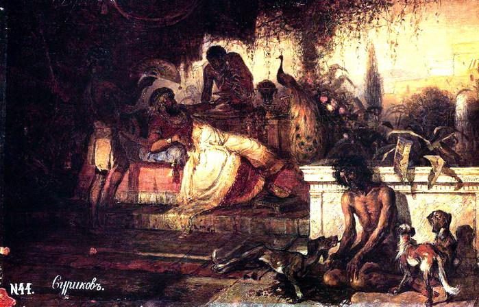 Богач и Лазарь. 1873 (700x448, 144Kb)