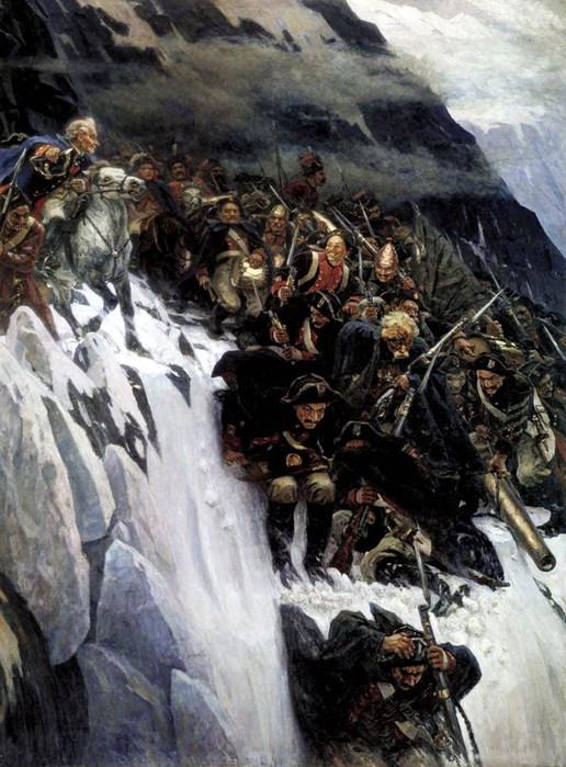Переход Суворова через Альпы в 1799 году. 1899 (516x700, 122Kb)
