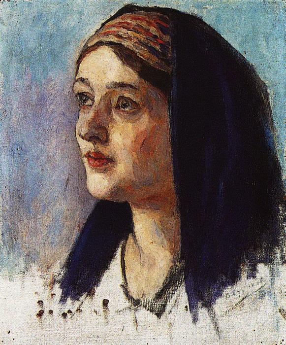 Голова Марии. 1913-1914 (581x700, 183Kb)