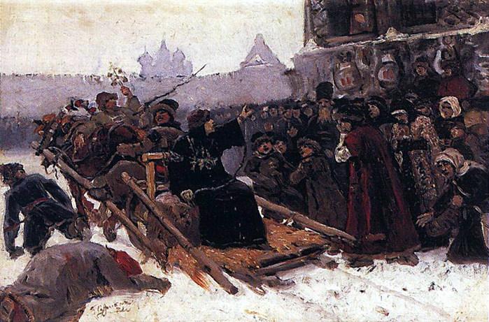 Боярыня Морозова. 1881 (700x461, 138Kb)