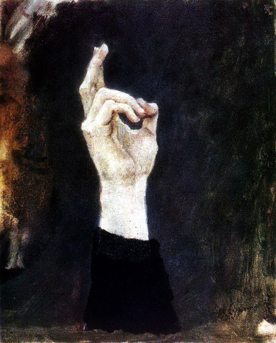 Рука боярыни Морозовой (563x700, 135Kb)