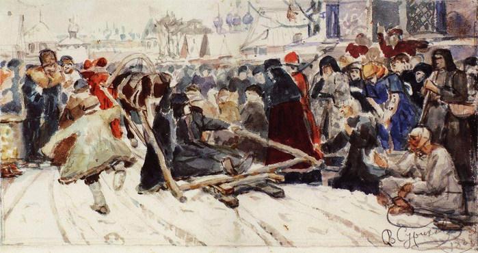 Боярыня Морозова. 1885 (700x370, 106Kb)