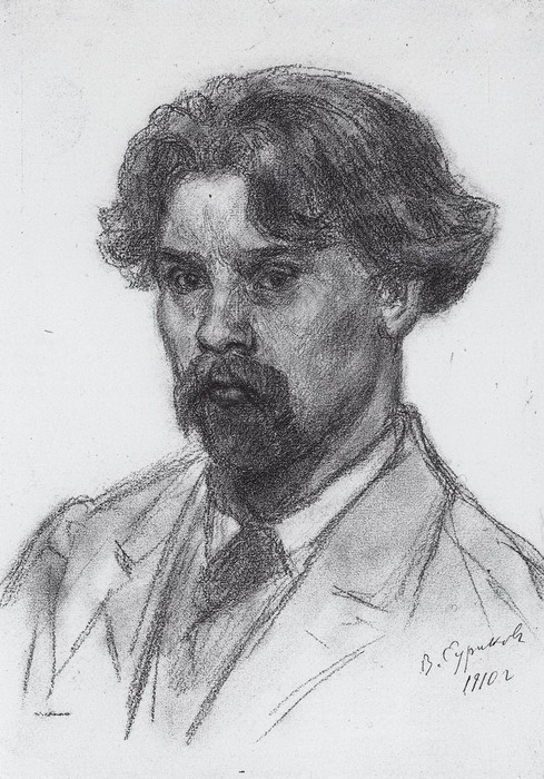 Автопортрет. 1910 (489x700, 133Kb)