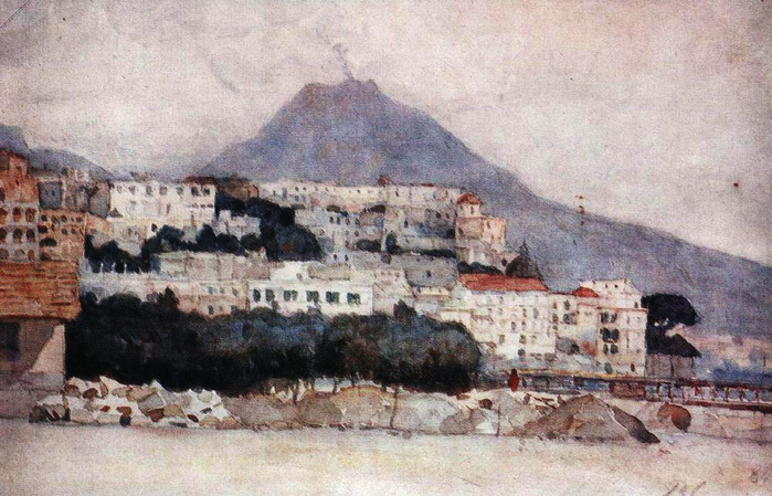 Неаполь. Везувий. 1884 (700x449, 133Kb)
