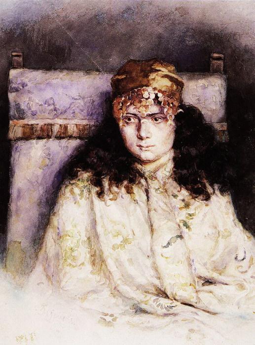 Женский портрет. 1885 (517x700, 133Kb)