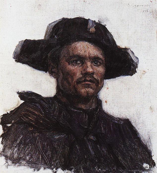 Голова солдата- барабанщика. 1898 (634x700, 193Kb)