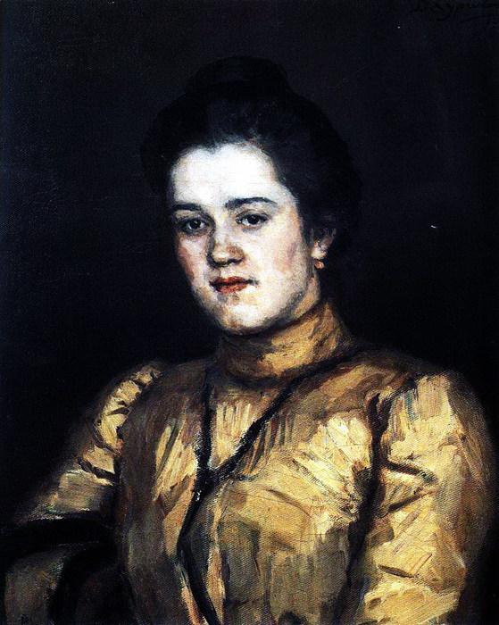 Портрет А. И. Емельяновой. 1903 (559x700, 125Kb)
