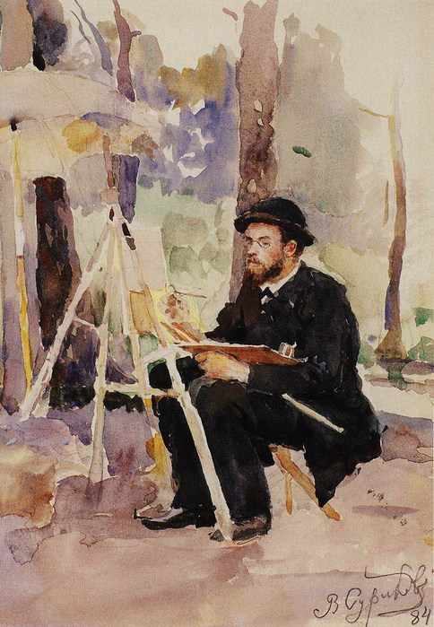 Портрет И. С. Остроухова. 1884 (484x700, 122Kb)