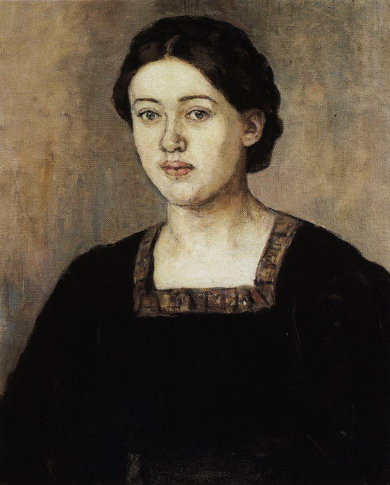 Портрет А. А. Добринской. 1911 (562x700, 101Kb)