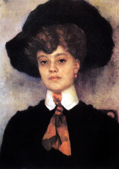 Женский портрет. 1902 (492x700, 101Kb)