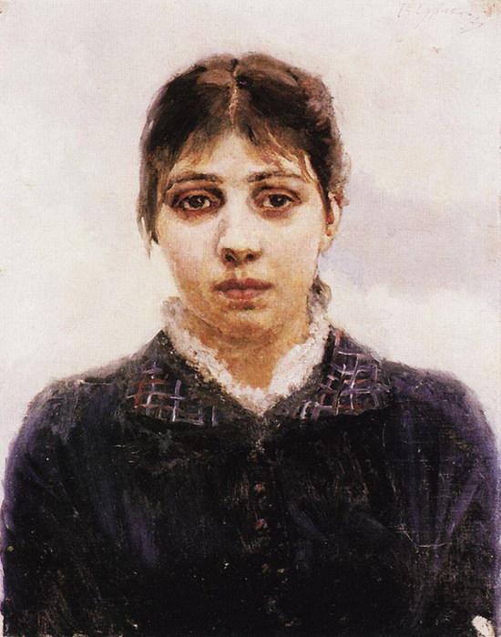 Портрет Е.А.Суриковой   до 1888 (550x700, 97Kb)