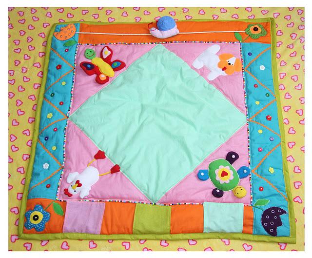 Развивающий коврик для Артема.