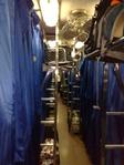 Вот так выглядит вагон, когда все спят