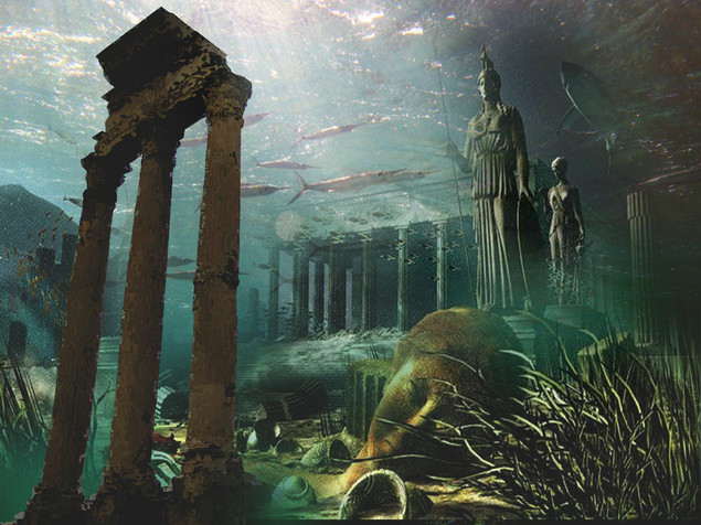 the great civilization and related art with atlantis