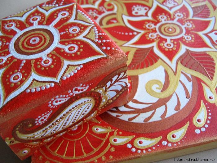 красная карамель, набор, акрил, автор Shraddha (0) (700x525, 336Kb)