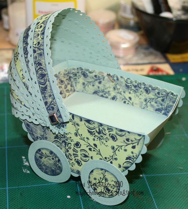 Как сделать коляску для новорожденного своими руками