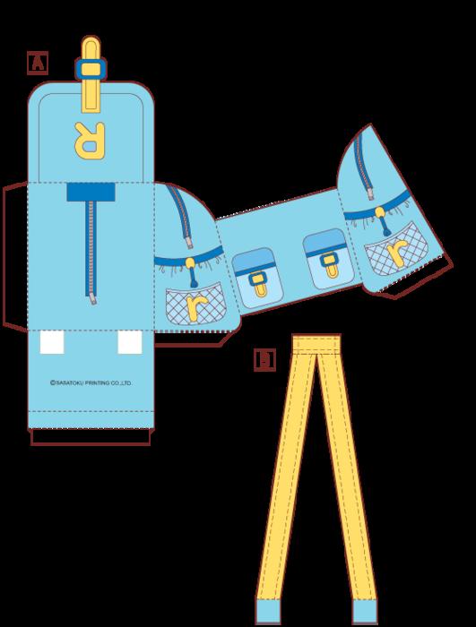 Как сделать рюкзак для кукол своими руками из бумаги