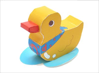 Объемные игрушки из бумаги на новый гБраслеты