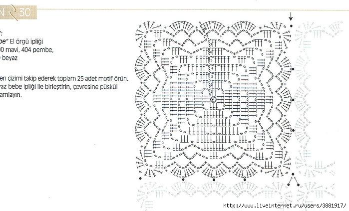 Вязание крючком для детей одеяло схемы 94