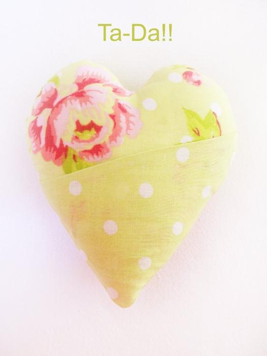 как шить сердечко<br />