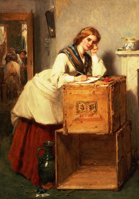 Lady-Writing-a-Letter-xx-Thomas-Faed (489x700, 122Kb)