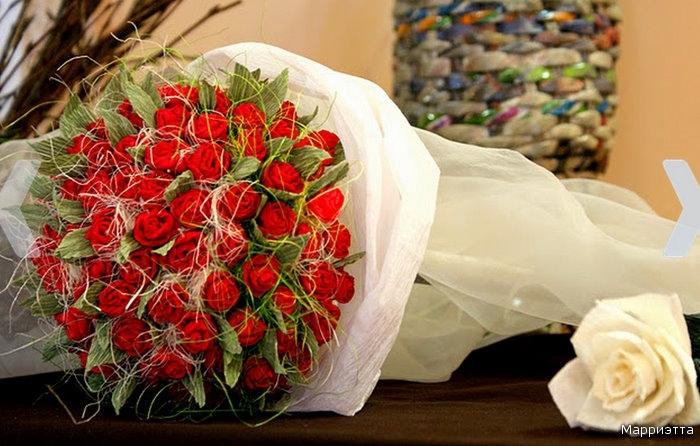 Огромные букеты цветов своими руками