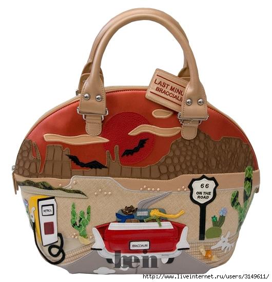 Женские сумки Braccialini B4354/0610 в каталоге одежды Be-in.ru.